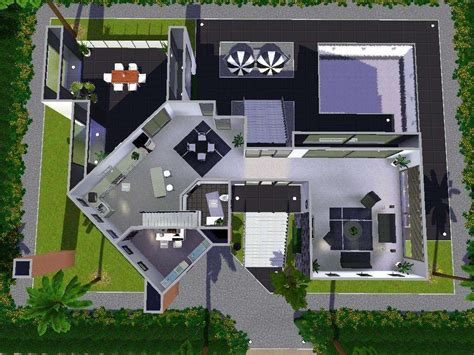 20 cool floor plans sims 3 inspiration design of