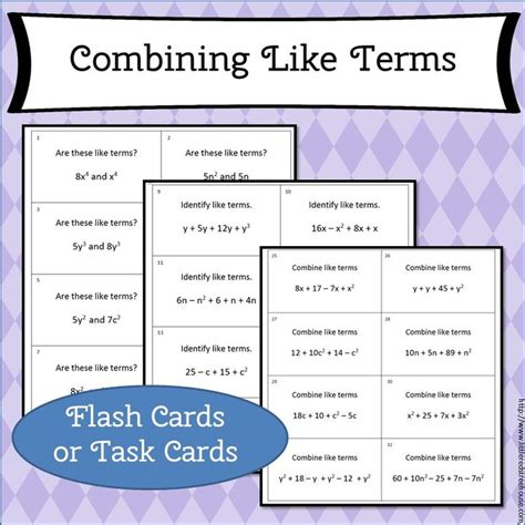 how to make terminology flash cards 1000 images about s math resources on