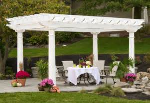 Vinyl Pergola by Artisan And Arcadian Pergolas Backyard Amp Beyond