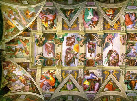 Ceiling Of The Sistine Chapel By Michelangelo by File Sistine Chapel Ceiling Left Png
