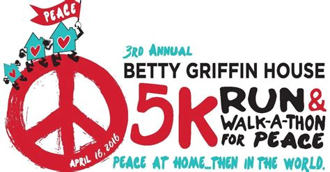 betty griffin house betty griffin house 5k run walk a thon