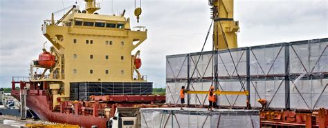 large scale breakbulk logistics and shipping mach 1 global services