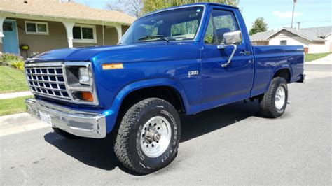 ford f150 short bed 1985 ford f150 4x4 short bed 5 0 efi 302 v8 4 speed a c p