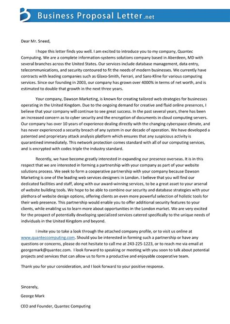 Letter For Media Partnership 17 Best Ideas About Business Sle On Sle Business