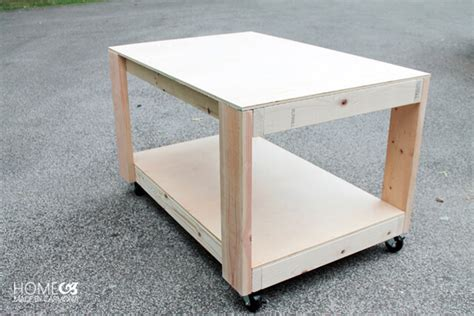 diy work benches how to build an easy super sturdy workbench home made