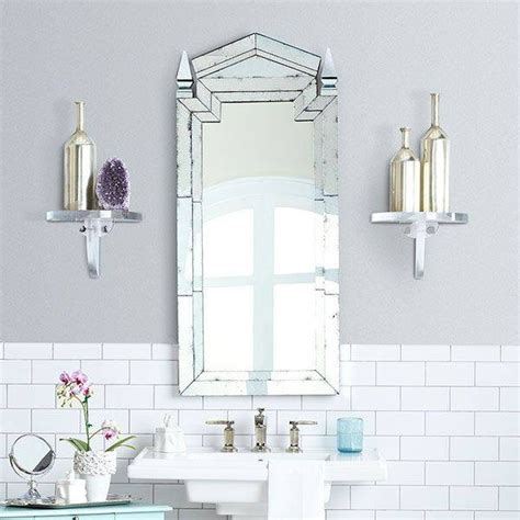 Deco Bathroom Mirror by 20 Collection Of Deco Style Bathroom Mirrors