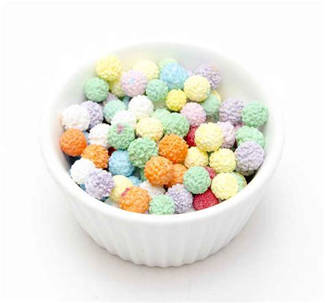 mimosa sugar balls cachous mixed colours 10mm