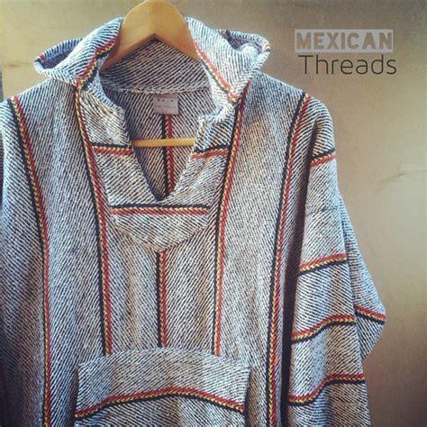 baja hoodie rug rug mexican threads baja hoodies