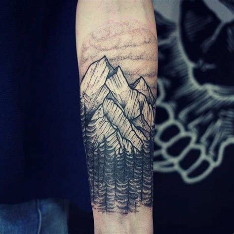 black and grey mountain tattoos 25 breathtaking mountain tattoos that flat out rock