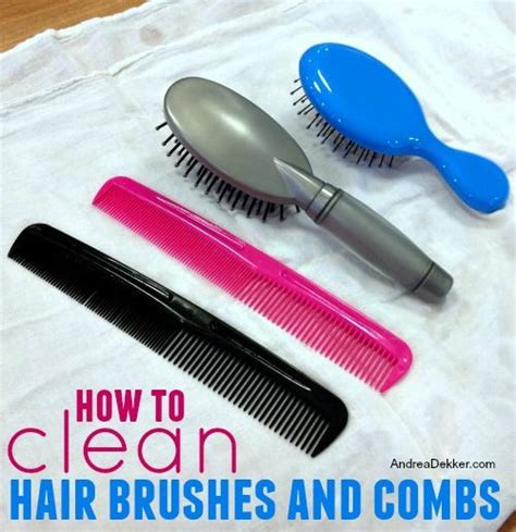 Cleaning Hair From by How To Clean Hair Brushes And Combs Clean It