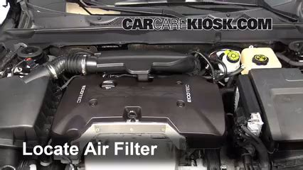air filter how to: 2013 2013 chevrolet malibu 2013