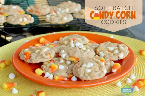 Fall Decorations For Outside The Home soft batch candy corn cookies normal cooking