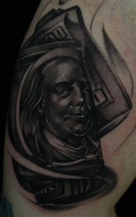 benjamin franklin tattoos junkies studio tattoos mike demasi ben