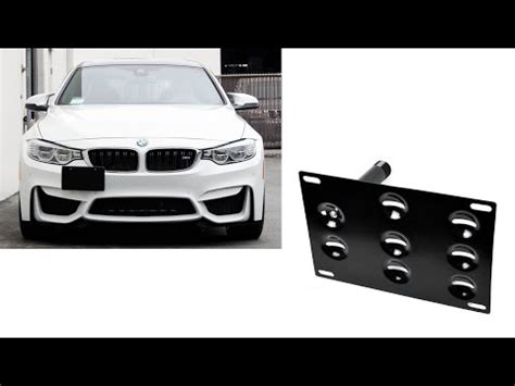 no drill front license plate bracket 2015 | autos post