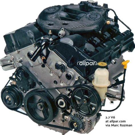 2 7 Chrysler Engine For Sale by The Chrysler 2 7 Liter V6 Engines