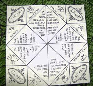 Origami Fortune Teller Ideas - paper fortune teller quotes quotesgram