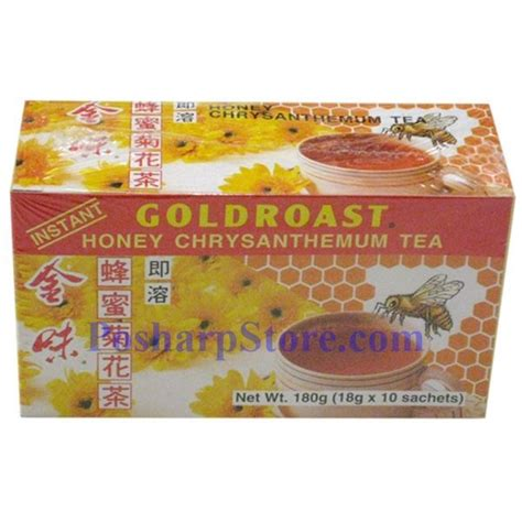 goldroast instant honey chrysanthemum tea