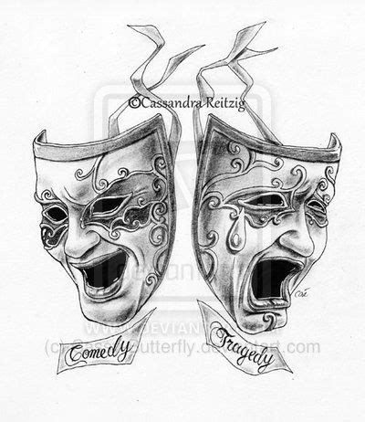 theater mask tattoo designs 71 fascinating drama mask ideas about mask