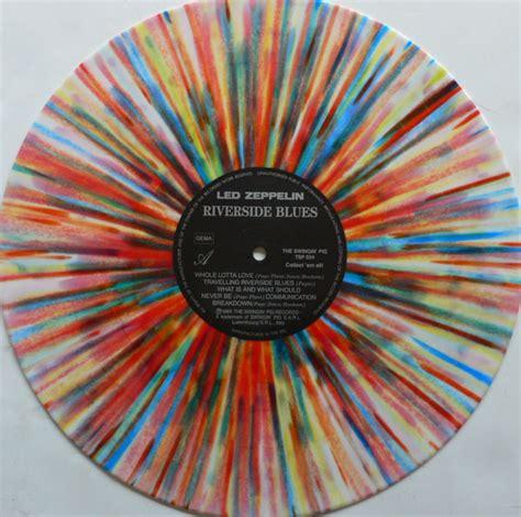 Where Was The Mecca Of Vinyl - led zeppelin splatter vinyl riverside blues album