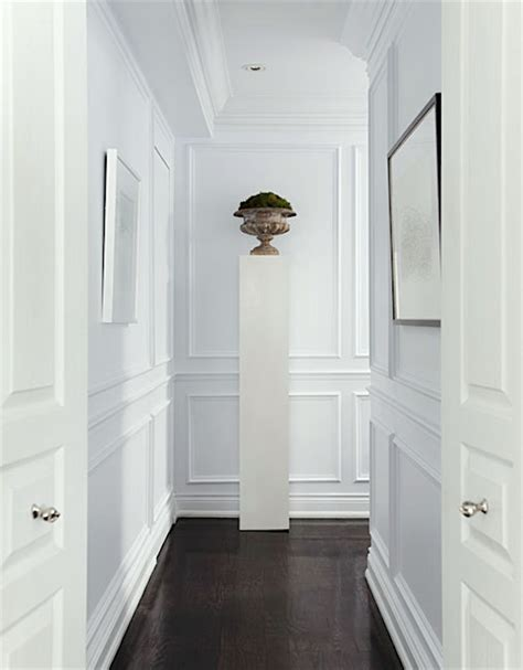 Wainscoting Hallway by Help For A Boring Hallway And What Not To Do