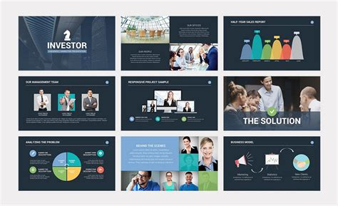 Business Pitch Powerpoint Template Enaction Info Business Pitch Powerpoint