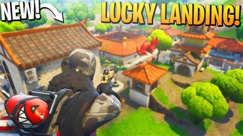 lucky landing loot location  fortnite br ps