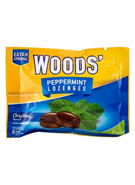 Frozz Cool Mint 15g woods peppermint lozenges strong sct 15g