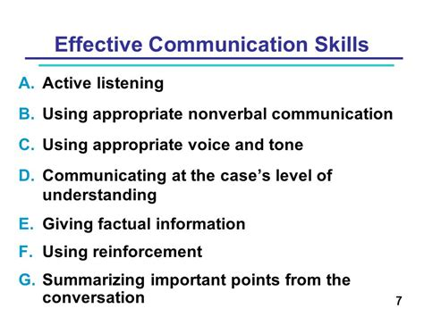 good communication skills communication skills for building rapport during contact