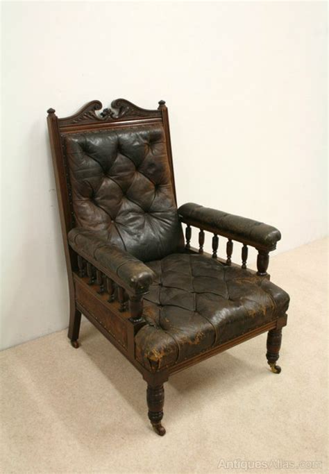 victorian armchairs late victorian gents armchair antiques atlas