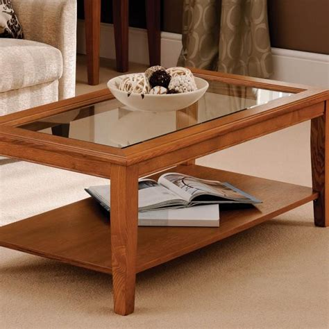 free glass top coffee table plans