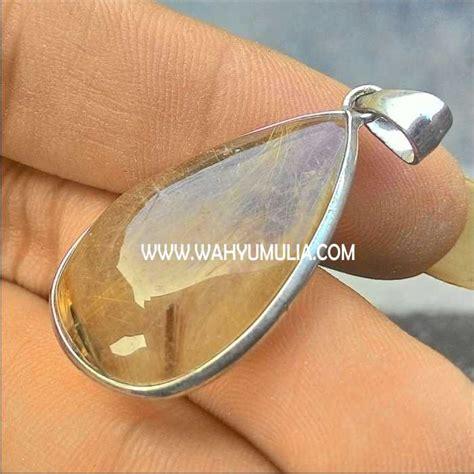 Batu Cat Eye Sagenetic Quartz Memo 3 80 Crt Limited batu liontin kecubung rambut emas kode 217 wahyu mulia