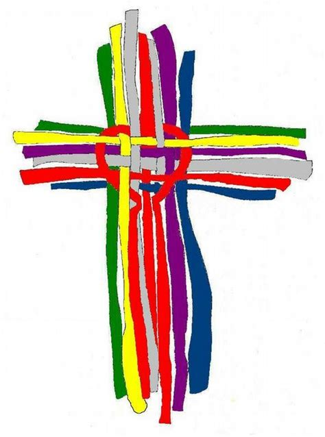 colorful crosses contact us iowa walk to emmaus
