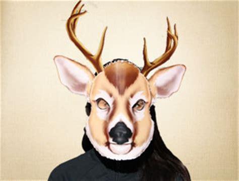 printable mask of deer deer mask the printable mask shop