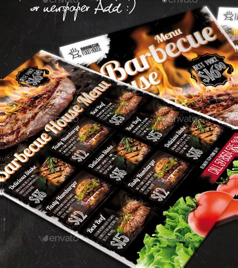 brisket house menu 23 bbq menu templates free premium download