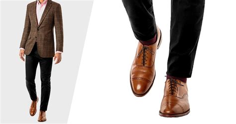 can you wear brown shoes with black