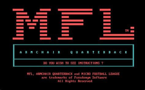 armchair quarterback game download armchair quarterback my abandonware
