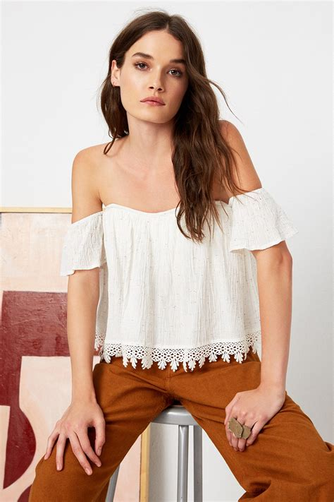 Amelia Blouse By Briseis Collection tops tularosa