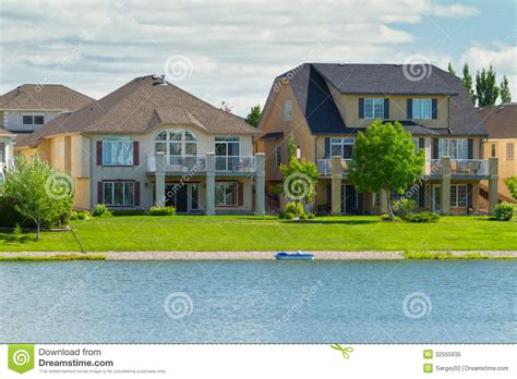 Luxury Homes Winnipeg Canadian Luxury Houses In Manitoba Royalty Free Stock Photo Image 32555935