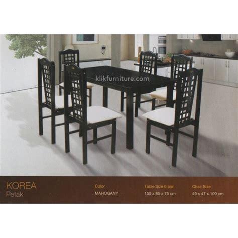 Kotak Tisu Minimalis Furniture Kursi Meja Lemari Bufet Nakas meja makan korea 6 kursi kotak cesarini kayu knockdown minimalis