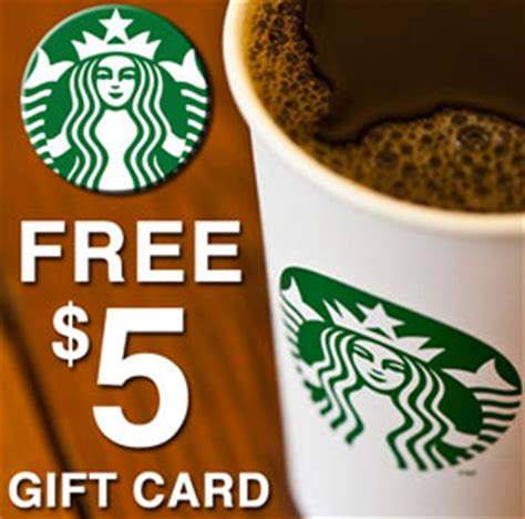 Discount On Starbucks Gift Card - free 5 starbucks gift card for at t customers live life half price