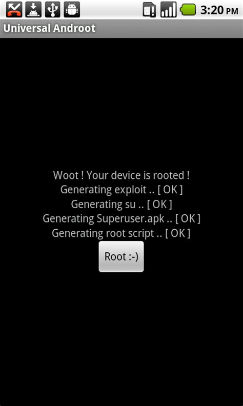 universal androot 1 6 2 apk 萬用android root工具 universal androot techorz 囧科技