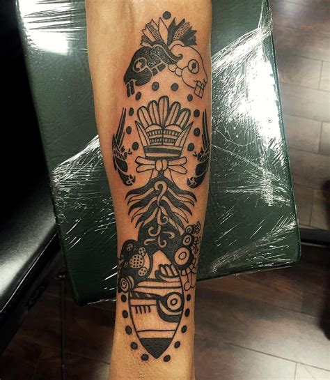 ornamental aztec tattoo designs ideas design trends