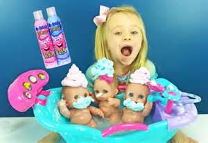 bathtub foam soap lil cutesies babies mr foam soap bath baby dolls