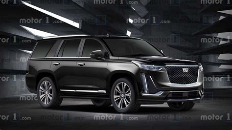 cadillac escalade rendering shows  gens  lines