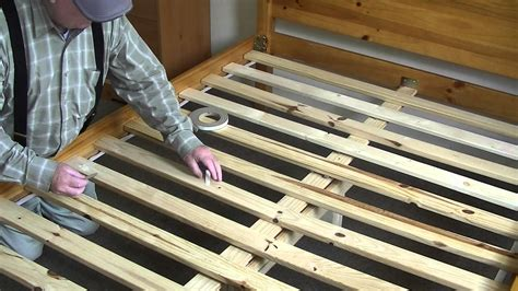 Repair Bed Frame Squeaky Bed Easy Fix