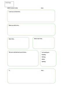 learner profile cards templates learner profile template primary by febkhilji teaching