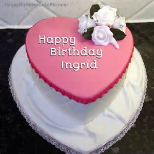 birthday cake ingrid