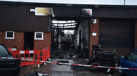 Lincoln Garage by Lincoln Garage Severely Damaged By As Investigators