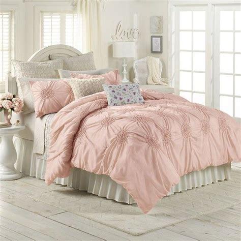 pink king comforter lc lauren conrad eloise comforter set pink rose 125