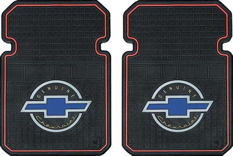 Chevrolet Car Mats by All Years All Makes All Models Parts K85101 Genuine